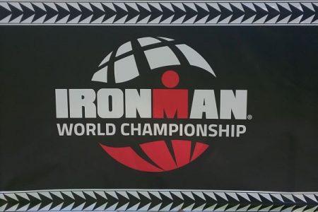Ironman World Championship banner