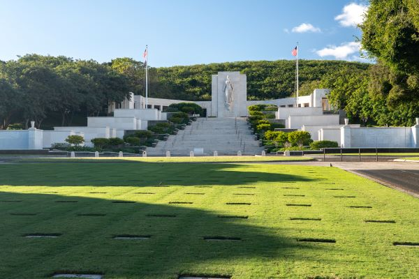 Honolulu Memorial at the National Cemetery of the Pacific