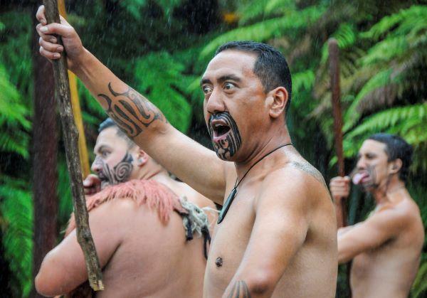 Maori Haka Dancers