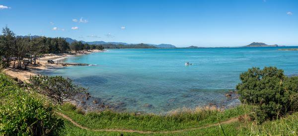 kailua bay beach park oahu windward coast