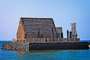 Kamehameha's personal heiau, 'Ahu'ena Heiau in Kailua-Kona on the Big Island