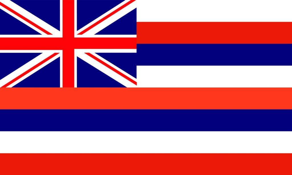 Hawaiian Kingdom Flag
