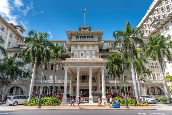 Moana Surfrider Hotel in Waikiki