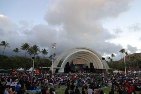 Waikiki Shell concert performance