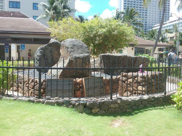 Healing Stones of Kapaemahu in Waikiki