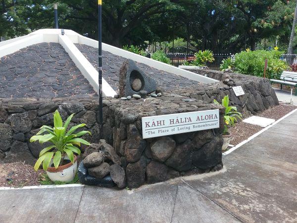 Kahi Hali'a Aloha (Place of Loving Remembrance)