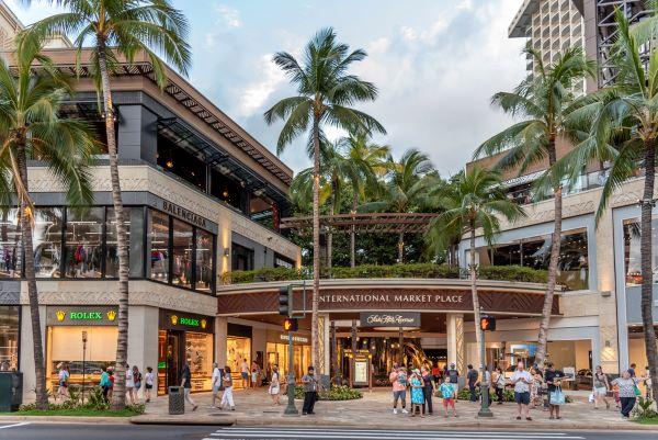 International Marketplace in Waikiki