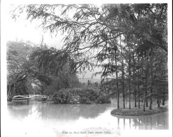 Kapiolani Park circa 1900